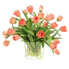 Silk Tulip Arrangement