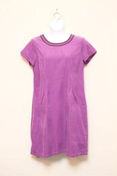 Boden Purple Casual Corduroy Dress Size UK 18L / US 14L #Boden #Shift #Casual
