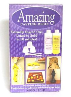 Alumilite Amazing Casting Resin 16 ounces Opaque White