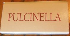 Pulcinella #matchbox To order your business' own branded #matchbooks and #matchboxes, go to www.GetMatches.com or call 800.605.7331 today!