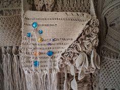 Ручная одежда Сумка плетеная для ноутбука.