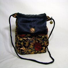 Shoulder Bag Small Crossbody bag Evening Bag by ReinventedThreads