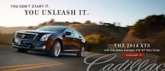 Are you ready to unleash the power from within? Do yourself a favor and test drive the XTS soon. #Cadillac #XTS