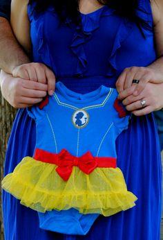 Gender Reveal Photo - Disney - Snow White - It's a Girl