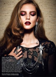 Dolores Doll by Max Abadian for Flare December 2012