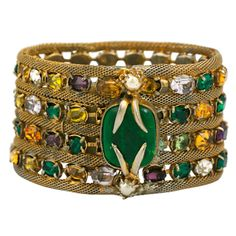 Jewelled Bracelet, Property Of Coco Chanel 1950's