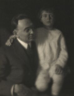 Walter L. Flory and John Flory. Clarence H. White. Date: 1915. Medium: platinum print with pencil. Department: Photography.