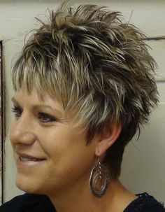 short spikey hairstyles for women