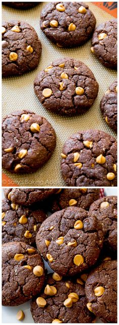 Flourless Brownie Cookies-- simple, healthy, gluten free, quick!