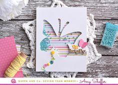 Queen & Co. Solo Butterfly Card Kit