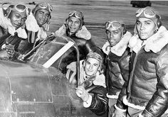 Tuskegee Airmen WWII http://formfollowsfunctionjournal.tumblr.com/