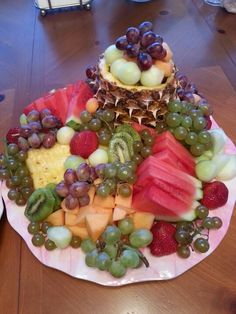 My Easter Fruit Tray