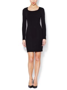 HELMUT LANG - Cut-Out Sheath Dress