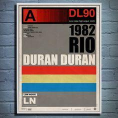 Duran Duran RIO 1982