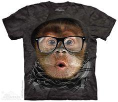 3774 Hipster Orangutan Baby