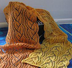 free pattern - Bellflower Summer Scarf by Rebecca Hope Osborn