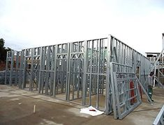 040 2 galati hala 283mp structuri metalice usoare steel frame homes pinterest. Black Bedroom Furniture Sets. Home Design Ideas