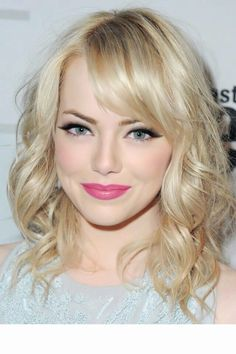 Hooded eyes makeup- Emma stone
