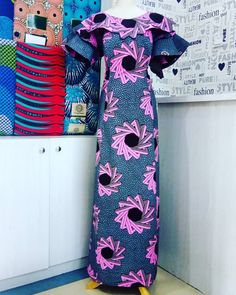 Instagram post by Bilkisu Audu • Nov 21, 2018 at 2:39pm UTC African Clothes, African Dresses For Women, African Attire, African Fashion Dresses, African Women, Orange Gown, Kente Styles, Nov 21, Long Gowns