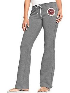 Women's Fleece Sweatpants - I wonder if they still make ones that feel like you're wearing blankets as pants? There's nothing better after a long day of wearing polyester separates than putting on blanket pants and a nice soft t-shirt. Plus, then there's no excuse not to go the gym! Hypothetically at least...haha!