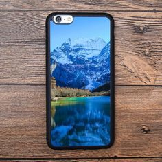 The beautiful blue scenery of the landscape Case For IPhone