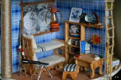Moomin House, Moomin Valley, Ladder Decor, Architecture, Projects, Room, Crafts, Dollhouses, Furniture