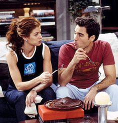 WILL & GRACE (again, not an actual couple but still adorable as best friends)