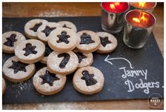 On the 3rd Day of Christmas Baking...Festive Jammy Dodgers - Honeywell Bakes | Iced Biscuits and Baking Kits
