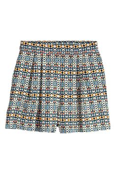Pantaloni scurţi, talie înaltă   H&M