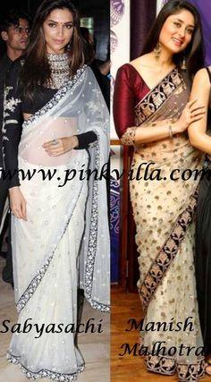 Deepika - Kareena Saree faceoff | PINKVILLA