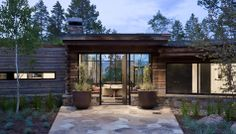 Rosenthal Residence by Ward + Blake Architects, Jackson, WY