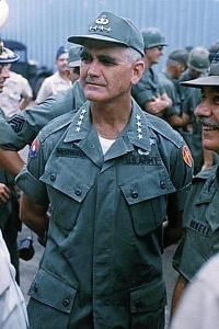 General William Westmoreland United States Army Commander in the Vietnam War from - Stock Image Vietnam History, Vietnam War Photos, North Vietnam, Vietnam Veterans, Military Men, Military History, Military Clothing, Military Photos, William Westmoreland