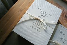 Letterpress wedding invitations, blind emboss, deco, printed by #stoneberrypress http://stoneberrypress.co.uk