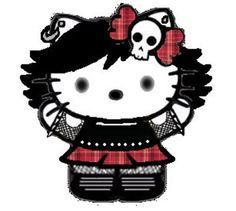 Emo Hello Kitty Wallpaper | mas fotos de hello hello kitty con brillo hello kitty emo hello kitty ...