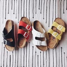 Tough decisions this morning. @uosanfrancisco #UOonYou #birkenstock #urbanoutfitters