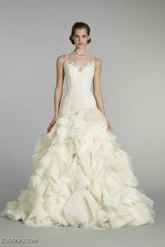 Lazaro Wedding Dress 2013