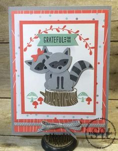Foxy Friends Card: StampingJo.com