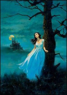 Empress gothic style cover art by Doug Beekman. Horror Art, Gothic Romance Books, Gothic Romance, Vintage Art, Fantasy Art, Retro Horror, Gothic Novel, Art, Cover Art