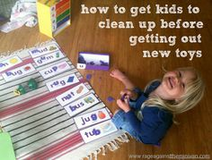 the play mat: a solution to help kids clean up before getting out new toys