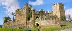 Castillo de Ponferrada, España