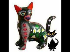 Oaxacan Art - YouTube Hispanic Art, Art Videos For Kids, Arts Ed, Mexican Art, Art Studies, Paper Mache, Art History, Bowser, Dinosaur Stuffed Animal