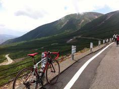全日本マウンテンサイクリングin乗鞍 下山中