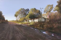 Jorge Frasca Argentine, teacher of the landscape, painter of the air and the light. Self-taught person, owner of a noticeably individua. South Africa Art, African Wall Art, Painting & Drawing, Watercolor Paintings, Nostalgia, Floral Prints, Country Roads, Landscape, Drawings