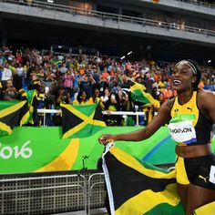 Sports: Jamaica Strikes First in Race for Worlds Fastest Woman at Rio