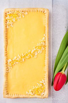 Mazurek w prostokątnej formie Polish Recipes, My Recipes, Sweet Recipes, Cake Recipes, Dessert Recipes, Cooking Recipes, Polish Food, Best Butternut Squash Soup, My Favorite Food