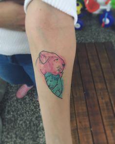 #tattoo #familia #family #tattooleon #tattootigre #tattooacuarela #watercolor #tatuajes #tattoogirl Watercolor, Tattoos, S Tattoo, Watercolor Painting, Tatuajes, Tattoo, Japanese Tattoos, Tattoo Illustration, Watercolors