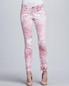 Skinny Ankle Peg Jeans