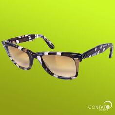 c2669dab3 Contato Óptica - Ray-Ban RB2140 Wayfarer SPECIAL SERIES #6 Óculos Quadrado,  Quadrados