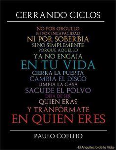 #ciclos -  Paulo Cohelo