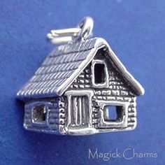 Sterling Silver .925 DOROTHY'S HOUSE Wizard Of Oz 3D Charm